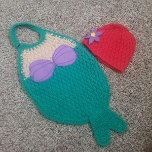 Little Mermaid Crochet Costume